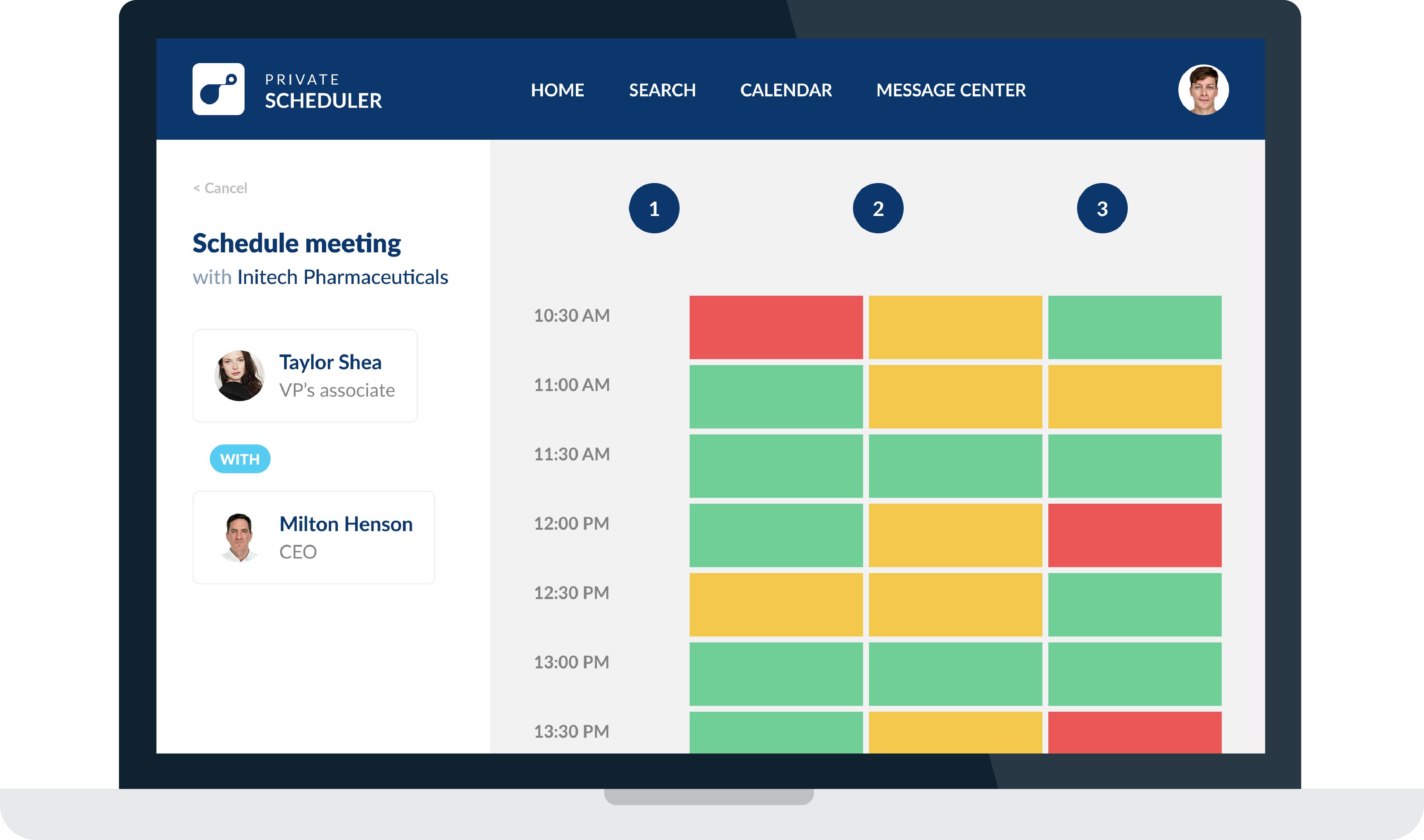 Private-Scheduler-Scheduling-Step